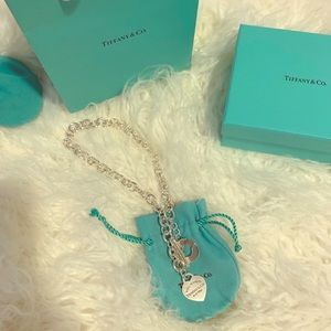 Return to Tiffany toggle necklace
